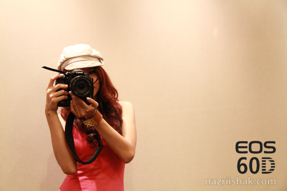 Canon EOS 60D Reviewer Briefing