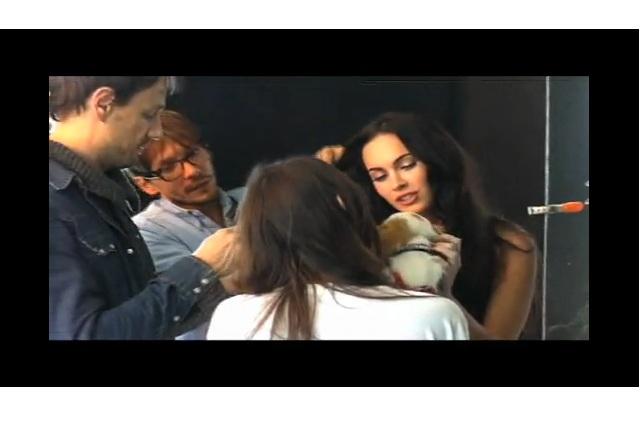 Behind The Scenes with Megan Fox : Elle Magazine
