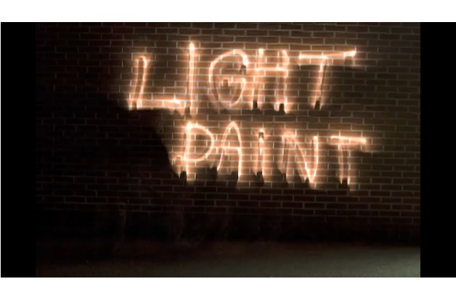 A Very Cool Light Painting Tutorial