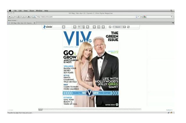 VIV Magazine's Digital iPad Magazine